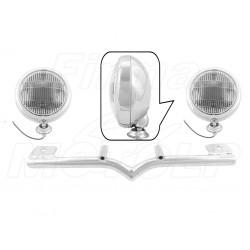 STELAŻ Z LAMPAMI LIGHTBARAMI HONDA VT 750 1100 C2 C3 ACE AERO HOMOLOGACJA E4, 02B - PRZECIWMGŁOWE