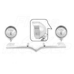 STELAŻ Z LAMPAMI LIGHTBARAMI HONDA VT 750 1100 C2 C3 ACE AERO HOMOLOGACJA E9 HR - HALOGENOWE DROGOWE