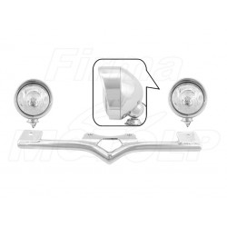 STELAŻ Z LAMPAMI LIGHTBARAMI HONDA VT 750 C C4 C5 C6 SHADOW HOMOLOGACJA E9 HR - HALOGENOWE DROGOWE