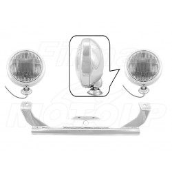 STELAŻ Z LAMPAMI LIGHTBARAMI SUZUKI M90 BOULEVARD M1500 INTRUDER VZ 1500 HOMOLOGACJA E4, 02B - PRZECIWMGŁOWE