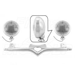 STELAŻ Z LAMPAMI LIGHTBARAMI KAWASAKI VN 1700 VN1700 VULCAN CLASSIC HOMOLOGACJA E4, 02B - PRZECIWMGŁOWE