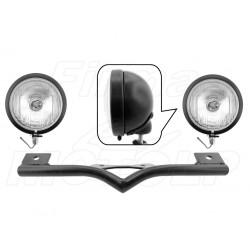 STELAŻ Z LAMPAMI LIGHTBARAMI HONDA VTX 1300 VTX1300 CX FURY HOMOLOGACJA E13 - HR
