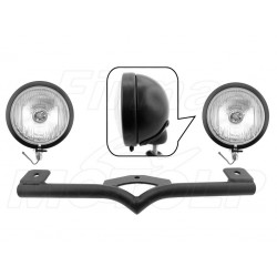 STELAŻ Z LAMPAMI LIGHTBARAMI HARLEY DAVIDSON HD 883 C 1200 C SPORTSTER FXD HOMOLOGACJA E13 - HR