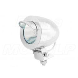 MINI REFLEKTOR PRZÓD LAMPA LIGHTBAR CHROM METAL HALOGEN 12V 20W