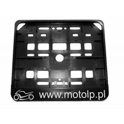 RAMKA TABLICY POD TABLICE MOTOCYKLOWA MOTOLP.PL